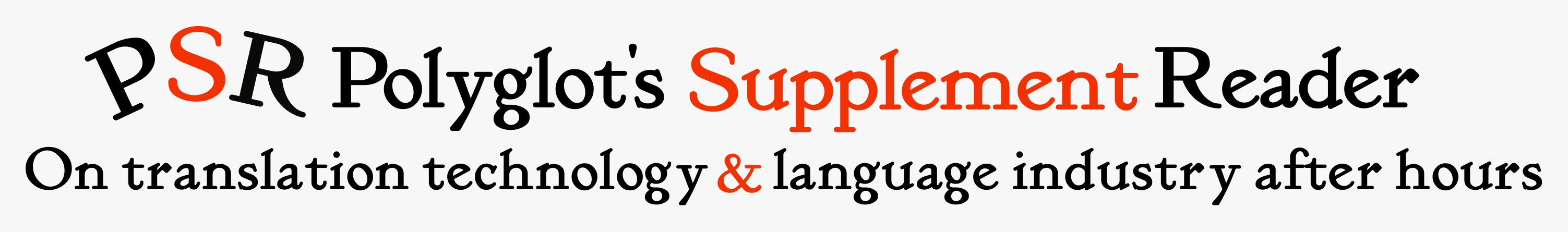 Polyglot's Supplement Reader
